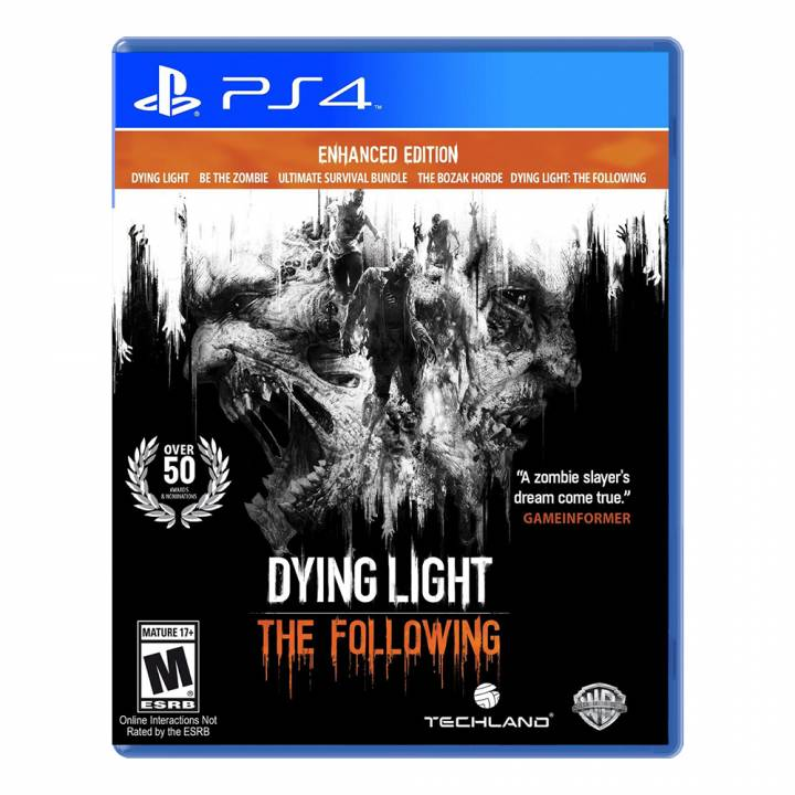 Dying Light: The Following - Enhanced Edition - PS4