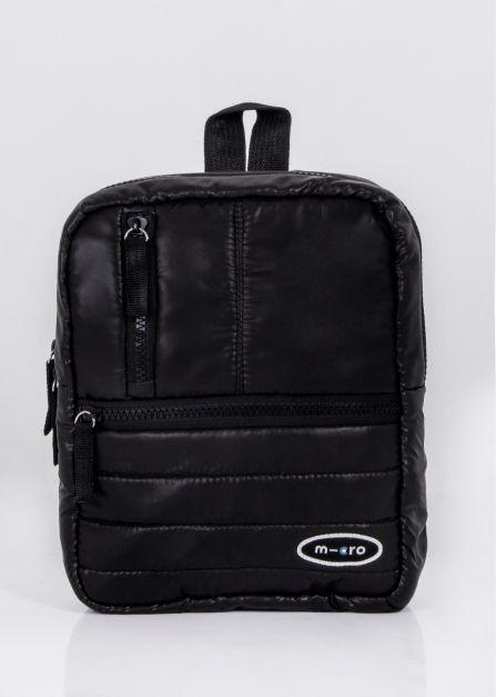 Micro Deluxe Bag Rayas / Negro