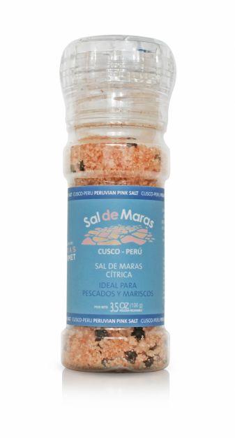 Sal de Maras Cítrica-Moledor Recargable x 100gr