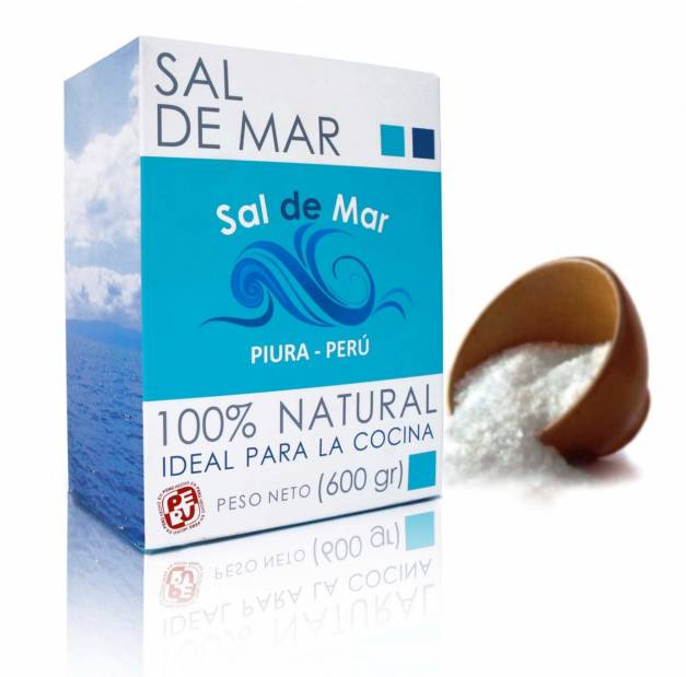 Sal de Mar Caja x 600gr
