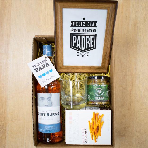 Box Papá + Whisky Robert Burns