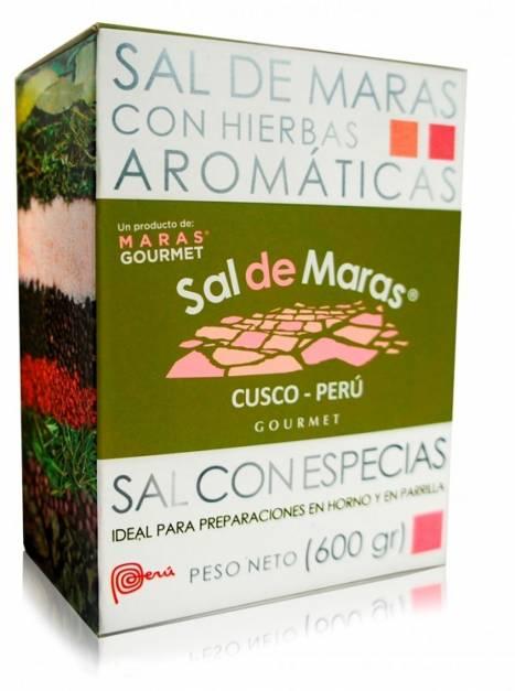Sal de Maras con Especias - Caja x 600gr