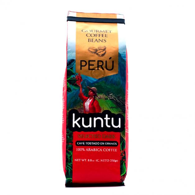 CAFE KUNTU 250 GR GRANOS ENTEROS