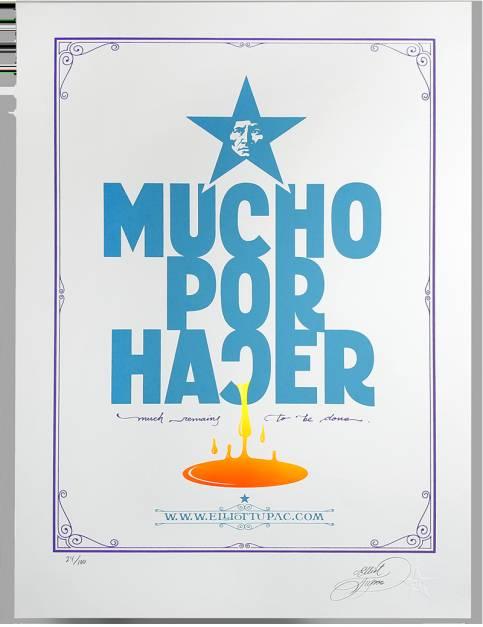 MUCHO POR HACER  (poster)