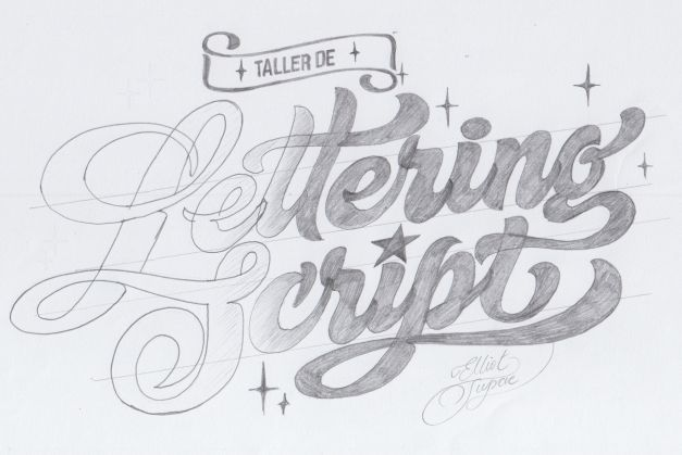 Taller LETTERING Lima - 28 y 29 Abril.