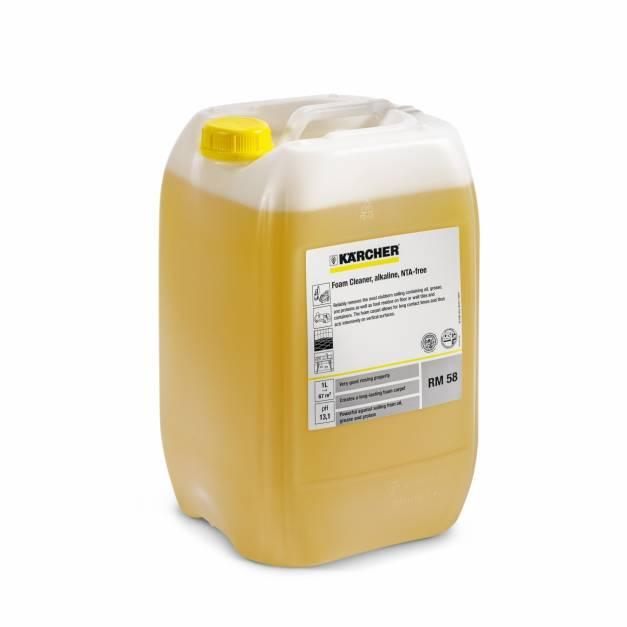 Detergente Espumante alcalino RM 58 desengrasante 20ltrs
