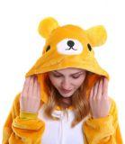 Pijama plush de oso unisex