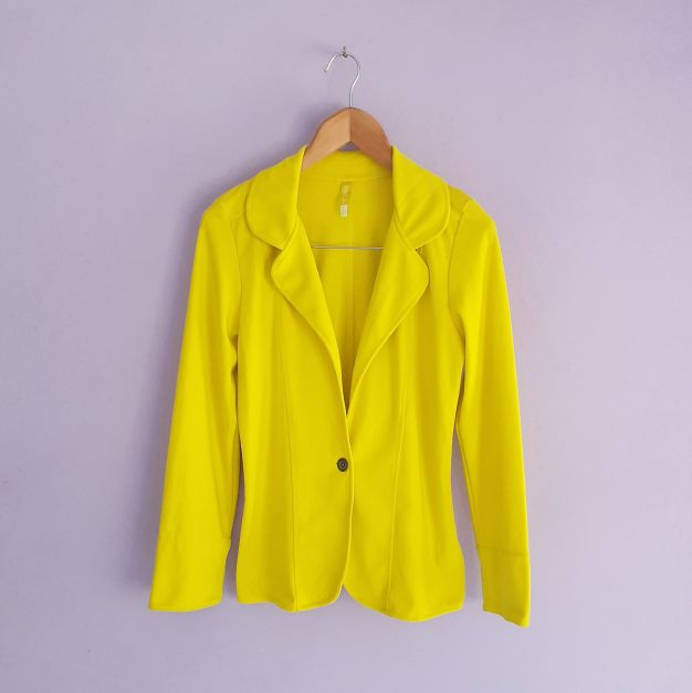Blazer amarillo electrico (#33THRIFTSHOP)