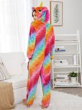 Pijama unicornio Unisex de escamas de pez