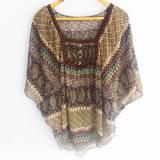 Blusa de gasa estilo hippie (#33THRIFTSHOP)