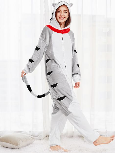 Pijama plush Gato Unisex