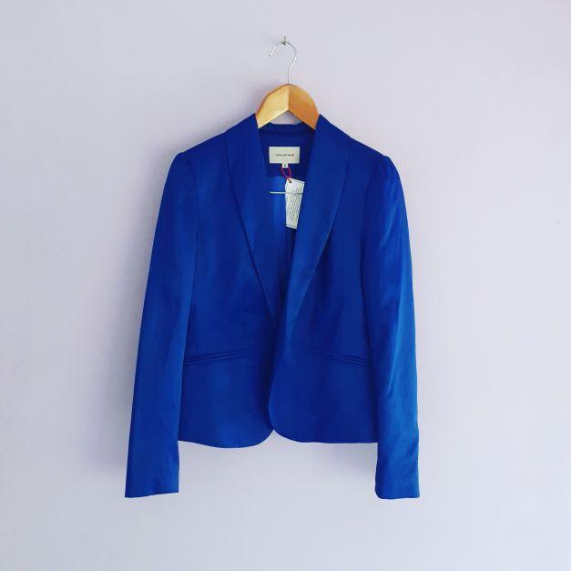 Blazer azul eléctrico (#33THRIFTSHOP)