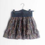 falda de gasa estampado de flores  (#33THRIFTSHOP)