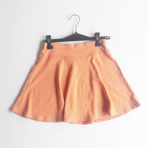 Falda color coral (#33THRIFTSHOP)