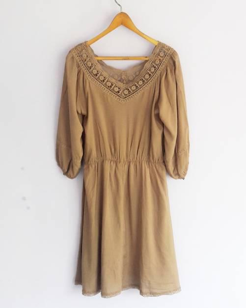 Vestido marrón (#33THRIFTSHOP)