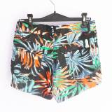 Short estampado tropical (#33THRIFTSHOP)