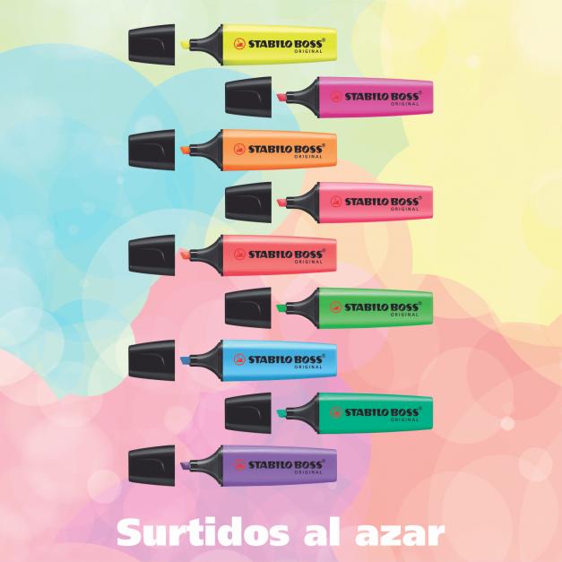 BOSS ORIGINAL COLORES SURTIDOS X 4