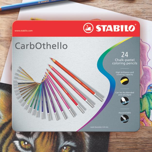 CARBOTHELLO X 24 (ESTUCHE DE METAL)