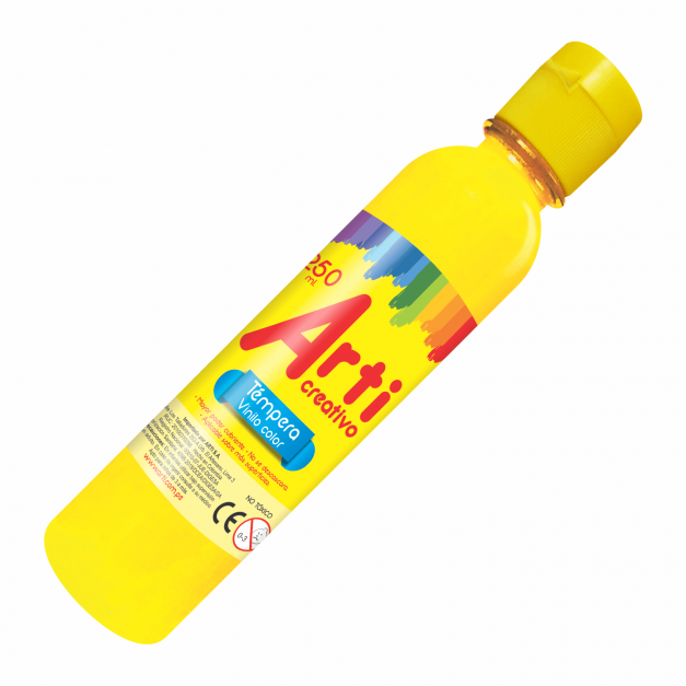 AC TÉMPERA AMARILLA X 250 ML.