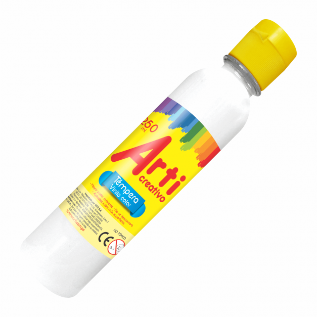 AC TÉMPERA BLANCA X 250 ML.