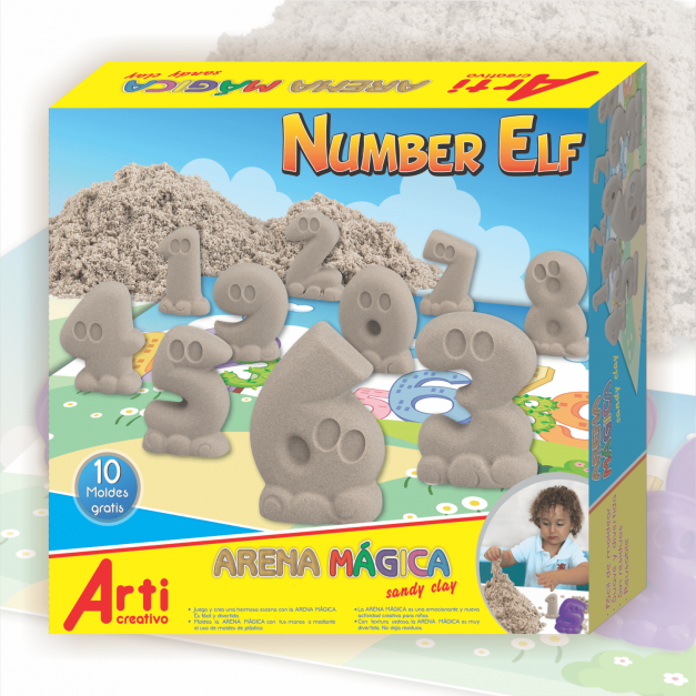 NUMBER ELF - ARENA MÁGICA