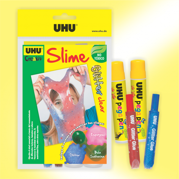 Slime Glitter clear