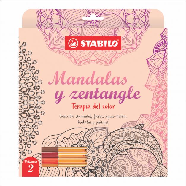LIBRO DE MANDALAS Y ZENTANGLE VOLUMEN 2