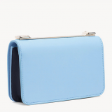 CARTERA CROSSBODY CON LOGO ALASKAN BLUE - TOMMY NAVY