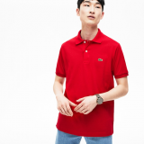LACOSTE L.12.12 POLO REGULAR FIT RED
