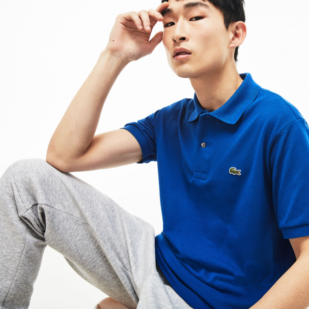 LACOSTE L.12.12 POLO REGULAR FIT ELECTRIC BLUE