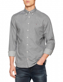 CAMISA REGULAR FIT M/L DIS HEATHER SILVER