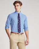 Camisa Custom Fit de cuadros vichy
