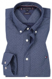 CAMISA REGULAR FIT TOMMY HILFIGER M/L DIS HEATHER