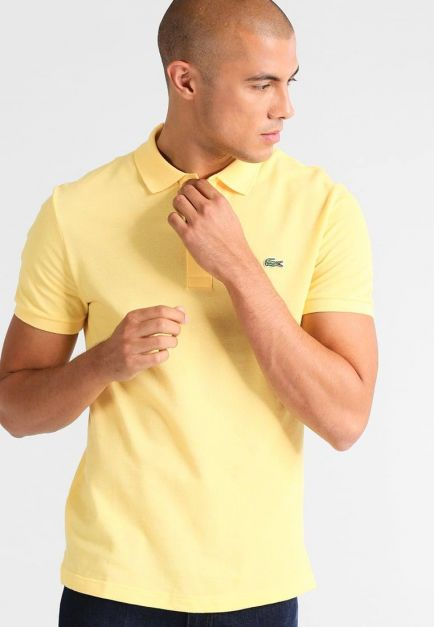 LACOSTE REGULAR FIT YELLOW