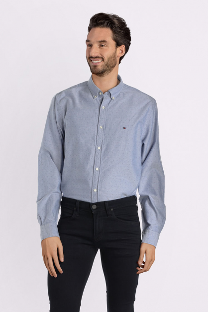 CAMISA TOMMY HILFIGER M/L DIS ENGINEERED