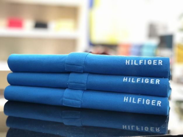 CAMISERO REGULAR FIT TOMMY HILFIGER M/C  HAWAIIAN SURF