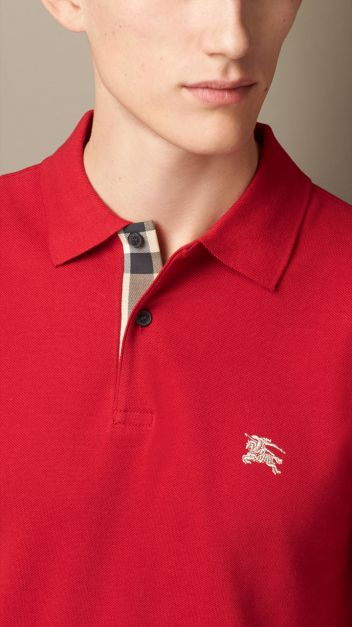 BURBERRY POLO BRIT RED