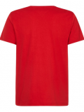 POLO ESSENTIAL CUELLO REDONDO HAUTE RED