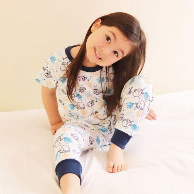 Pijama 2pzas Pecesitos
