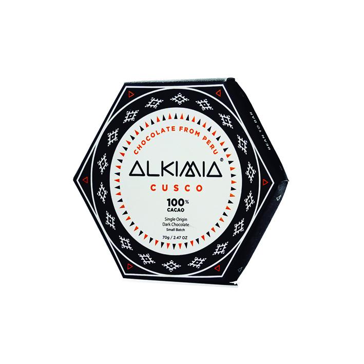 CHOCOLATE ALKIMIA CUSCO 100%