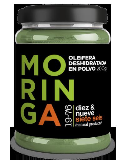 MORINGA OLEIFERA 19.76 PRODUCTS 200GR