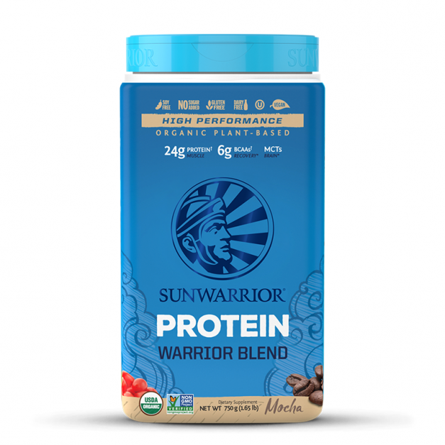 PROTEÍNA WARRIOR BLEND MOCHA  SUNWARRIOR