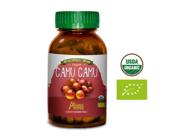 CAMU CAMU  EN CÁPSULAS AMAZON ANDES