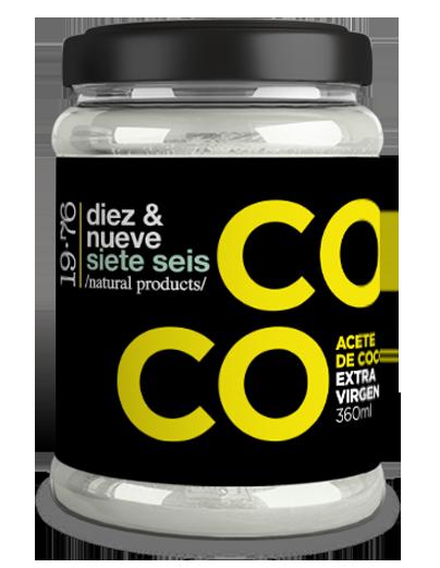 ACEITE DE COCO 19.76 PRODUCTS 360ML