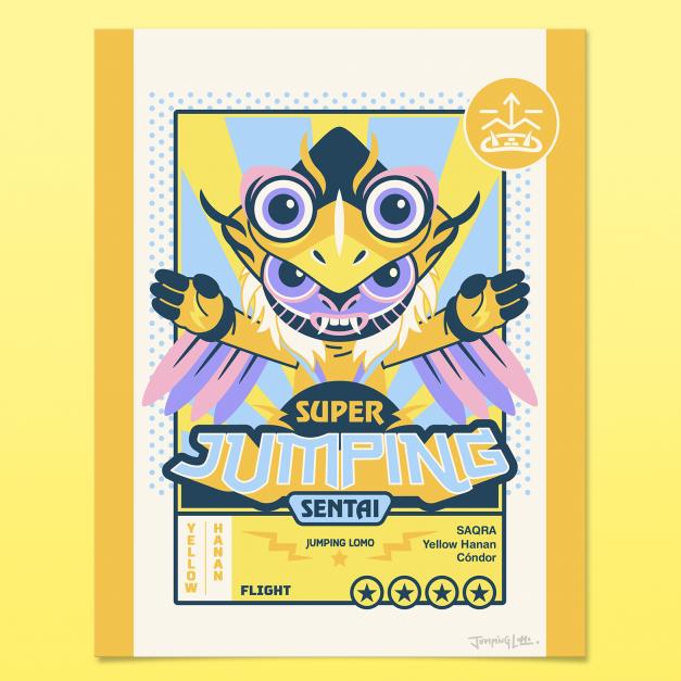 Yellow Hanan - Grabado Glicée - Edición Limitada