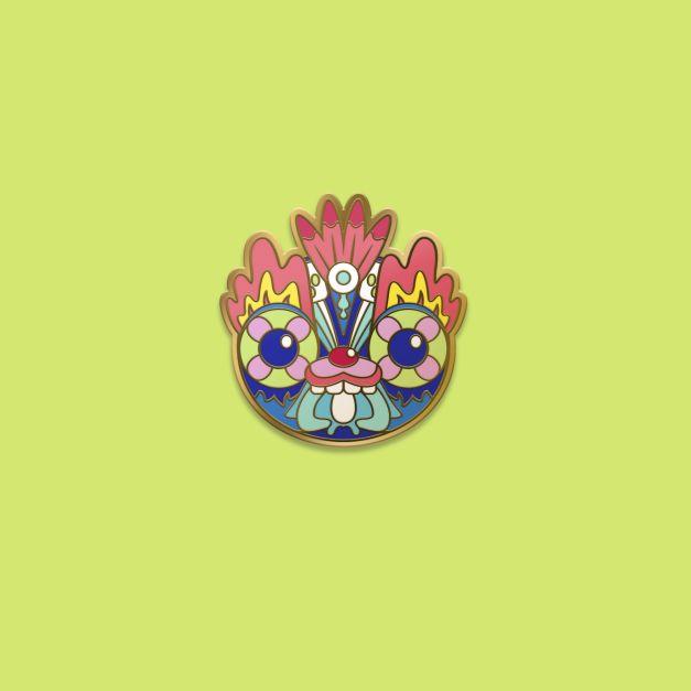 Prendedor pin PACHA