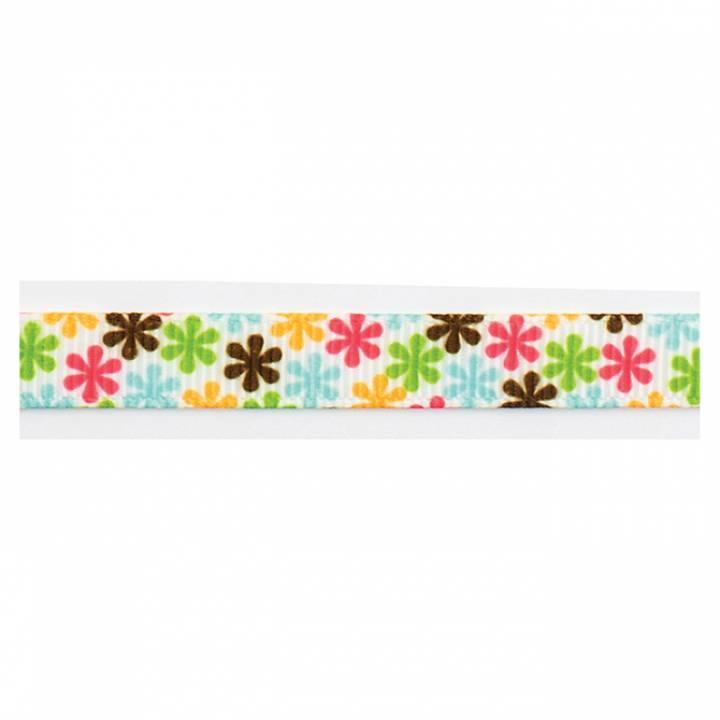 AC - cinta multi color flores