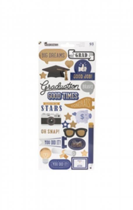 DCWV - Colección Graduation stickers