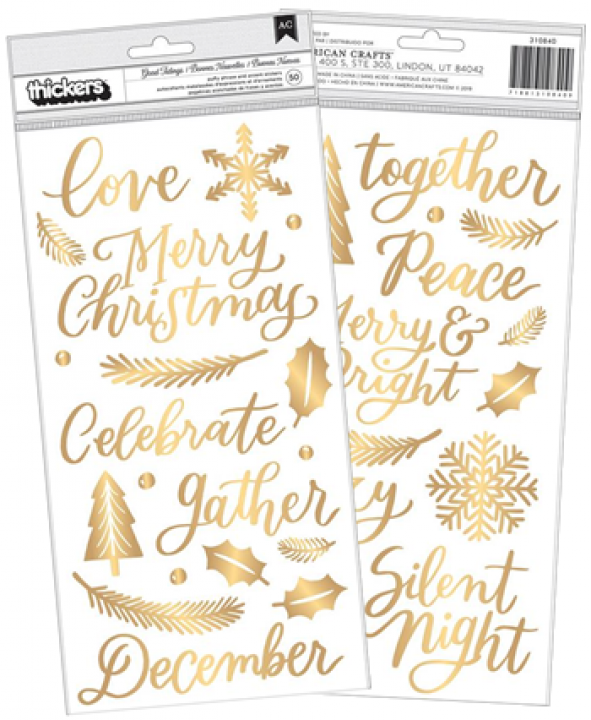PP - colección Together for Christmas thickers