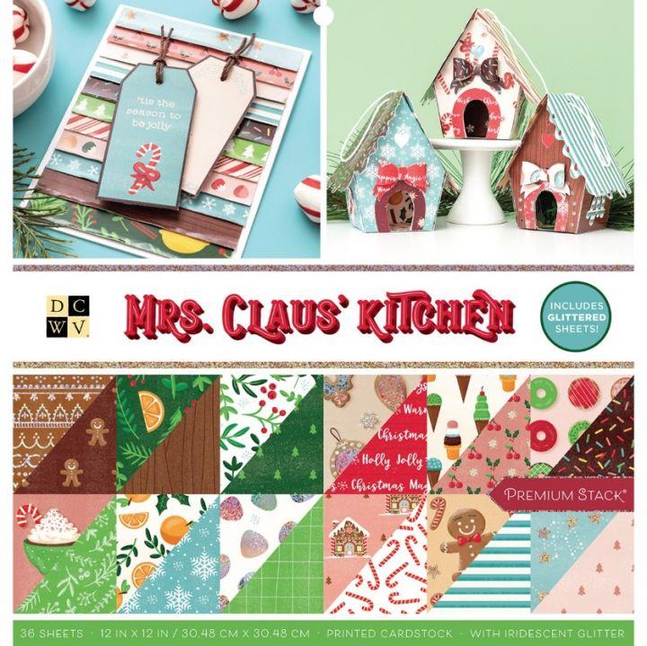 DCWV - Block 30x30 Mrs Claus kitchen